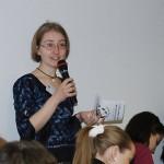 Мария Коношенко на открытии