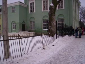 Вход в СПбГАУ