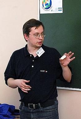 Михаил Бородкин на фестивале языков