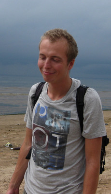 Олег Ершов на берегу