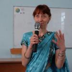 Евгения Ренковская о хинди (СПб)