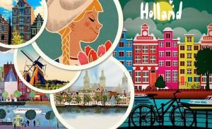 Коллаж про Нидерланды