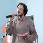 Матвей Гордон об идише рассказывает о презентации языка идиш