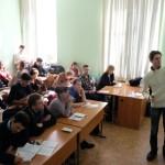 На лекции Кирилла Панова