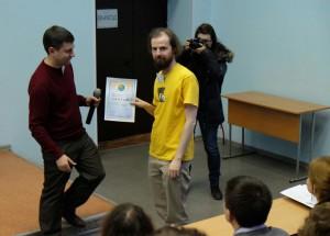 Илья и диплом фестиваля