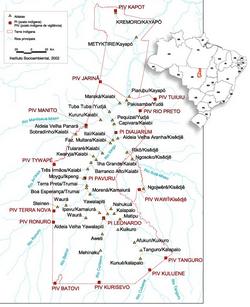 Карта распространения трумаи
